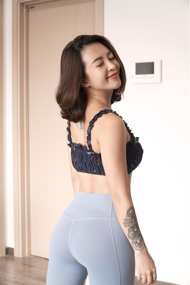hot girl phong gym anh 2