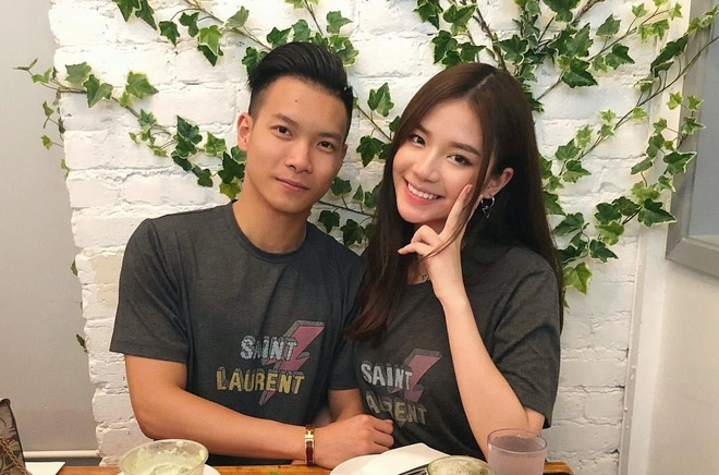 Vuong Hoang Mai Diz va ban trai thieu gia tinh tu tren dat My hinh anh 1