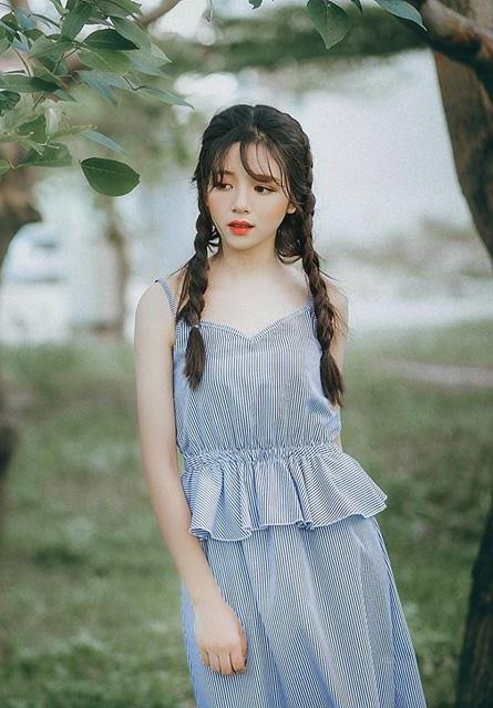hot girl ngu gat len bao Han anh 7