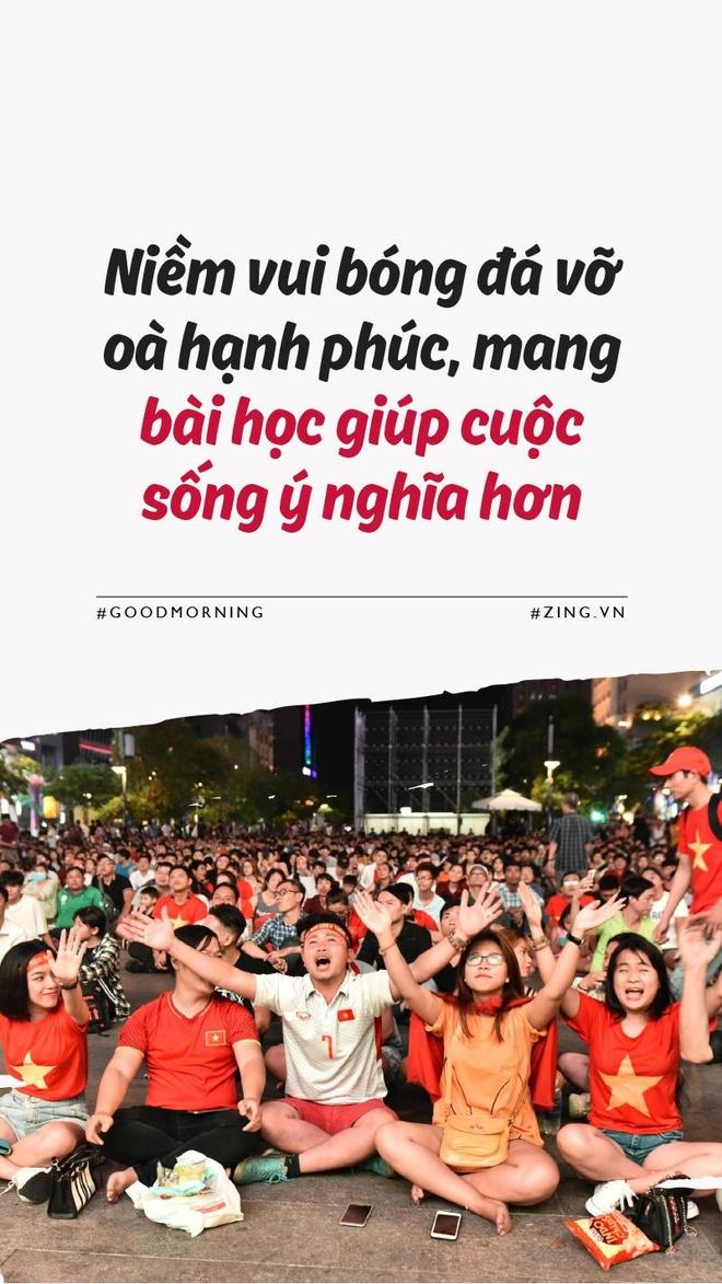 Niem vui bong da vo oa, mang bai hoc giup cuoc song them y nghia hinh anh 1