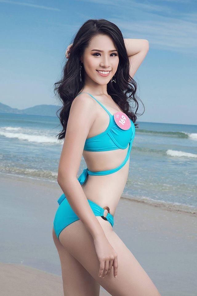 Nhan sac ngot ngao cua hot girl 2k tung vao top 10 Hoa hau Viet Nam hinh anh 2