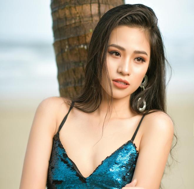 Nhan sac ngot ngao cua hot girl 2k tung vao top 10 Hoa hau Viet Nam hinh anh 1