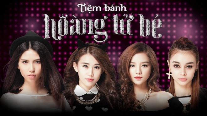 Dien vien 'Tiem banh hoang tu be' trong MV 'Nhung co nang xinh dep' hinh anh