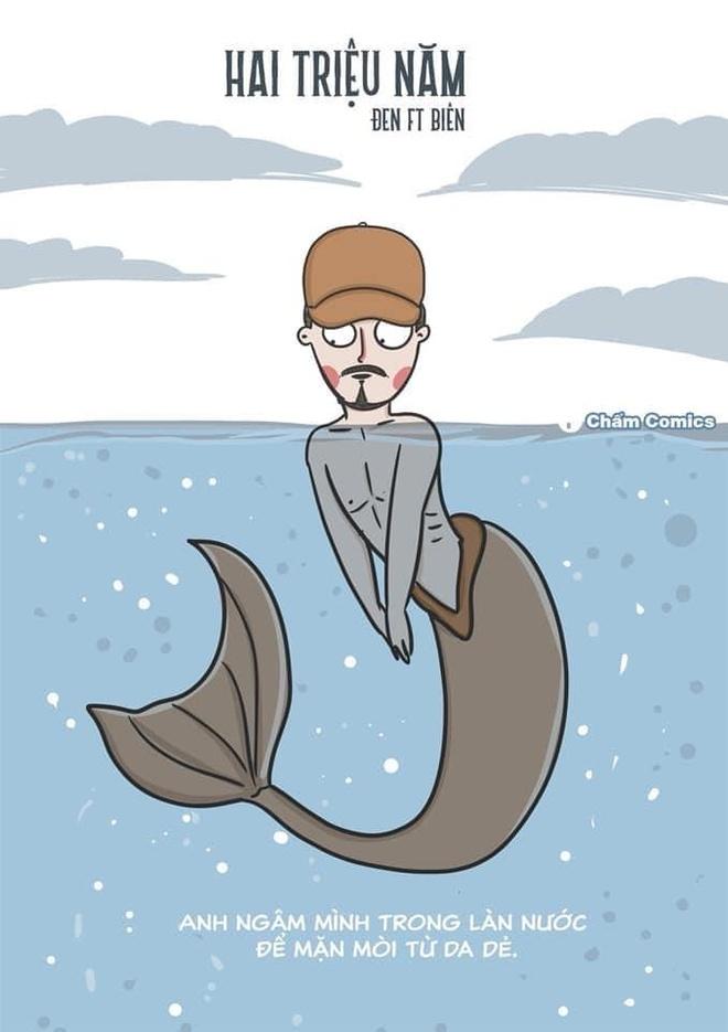 Quai vat 'Den Loch Ness' va loat anh che Den Vau trong MV moi hinh anh 6