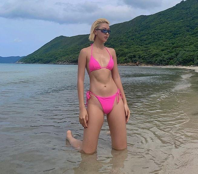Loat fashionista cham dien bikini khoe voc dang nong bong hinh anh 8