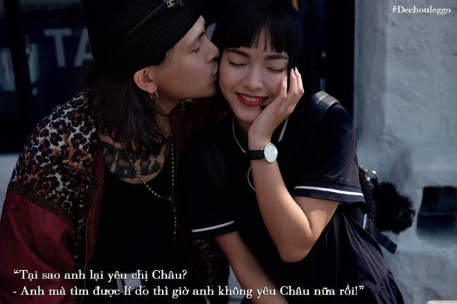 Chau Bui - Decao ky niem 4 nam yeu, dan mang vao giuc 'cuoi nhanh di' hinh anh 7