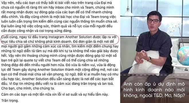 Sau lum xum 'an cap chat xam', Quang Dai lai bi to noi doi hinh anh 1