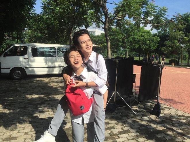 Nhung lan 'ca khia' cua 'doi chim ri' Quang Anh - Bao Han hinh anh 6