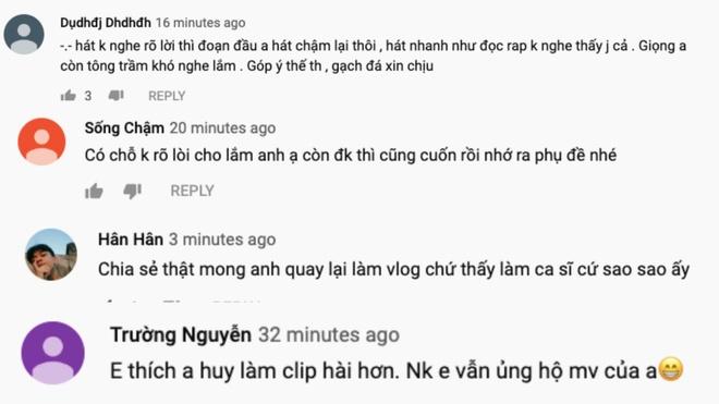 Huy Cung ra MV moi, fan noi 'hat khong ro loi, nen lam vlog thi hon' hinh anh 2