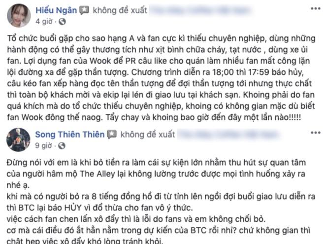 Fanpage tra sua bi rate 1 sao hang loat sau vu Ji Chang Wook vang mat hinh anh 2