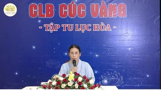 ba Pham Thi Yen co mat o Vesak anh 2