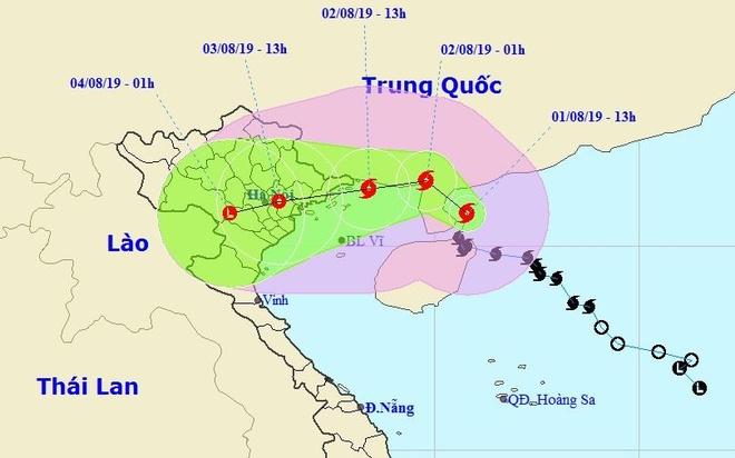Bao so 3 doi huong, co the do bo Quang Ninh - Thai Binh hinh anh 2