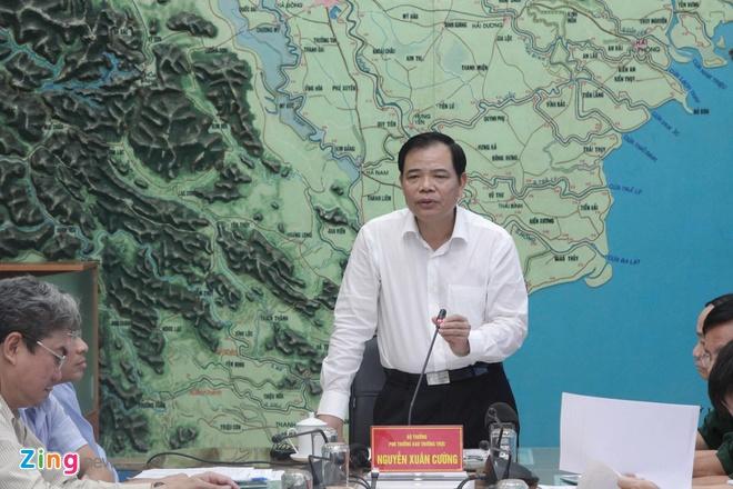 'Ap thap nhiet doi tren dat lien Trung Bo co dien bien di thuong' hinh anh 1