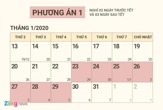 Chot de xuat nghi Tet Nguyen dan Canh Ty 2020 hinh anh 1