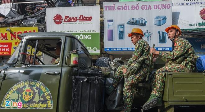 vu chay o cong ty Rang Dong anh 1