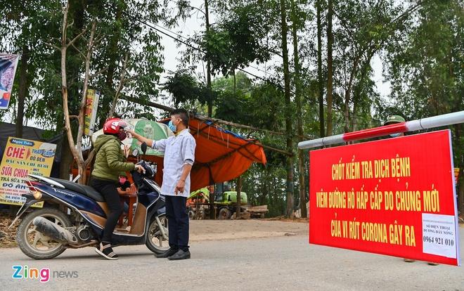 13 người bị cách ly khi thanh niên ở Bình Xuyên đến chơi nhà bạn gái
