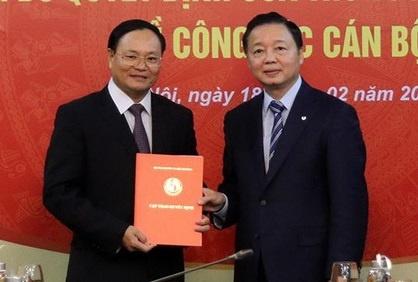 Pho chu tich tinh Quang Binh lam Thu truong Bo TNMT hinh anh 1 ttr_ngan.jpg
