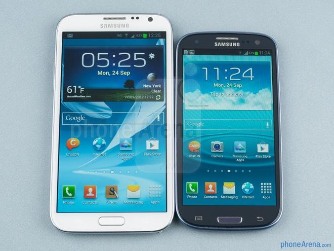 Da den luc Galaxy S hop nhat voi dong Note hinh anh 2