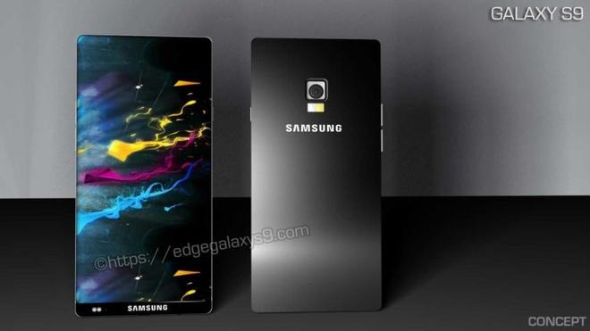 Thiet ke Galaxy S9 man hinh '3 Edge Infinity', pin day trong 2 phut hinh anh 1