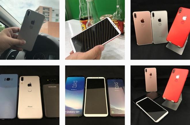 Mo hinh iPhone 8 ban tai Trung Quoc gia 170 USD hinh anh 1
