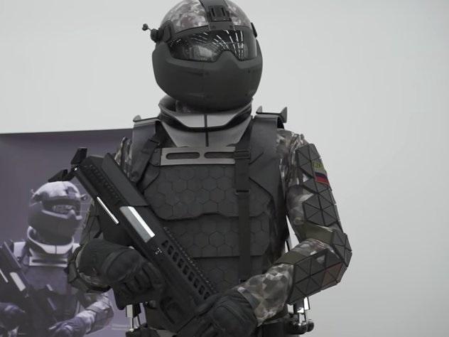 Bo giap cong nghe giong phim 'Star Wars' cua binh si Nga hinh anh 1