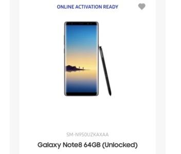 Galaxy Note 8 bat ngo xuat hien tren website cua Samsung hinh anh