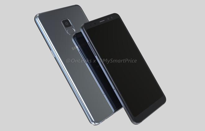 Galaxy A5, A7 2018 co the dung man hinh vo cuc hinh anh