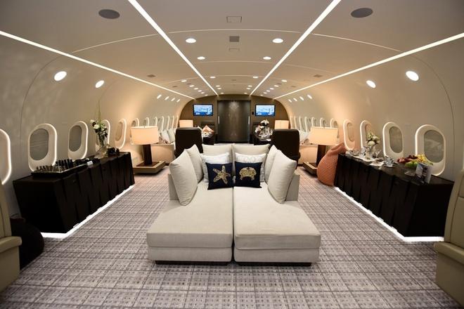 Ben trong Boeing 787 Dreamliner tri gia 300 trieu USD hinh anh 3