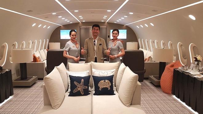 Ben trong Boeing 787 Dreamliner tri gia 300 trieu USD hinh anh 7