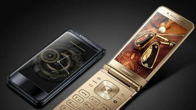 Samsung ra mat smartphone nap gap cau hinh cao hinh anh
