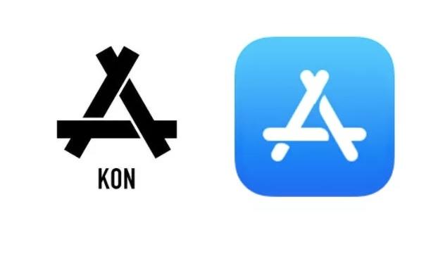 Hang quan ao Trung Quoc kien Apple vi logo App Store hinh anh 1