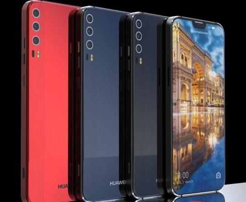 Thiet ke Huawei P11 voi 'tai tho' phong cach iPhone X hinh anh 1