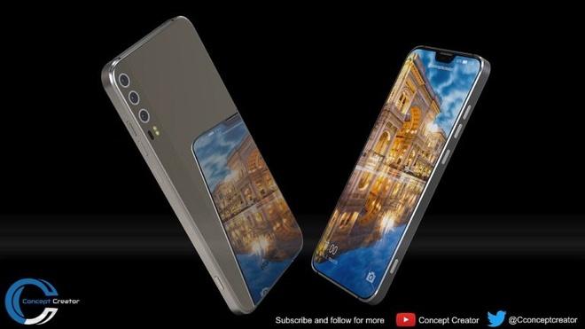 Thiet ke Huawei P11 voi 'tai tho' phong cach iPhone X hinh anh 3