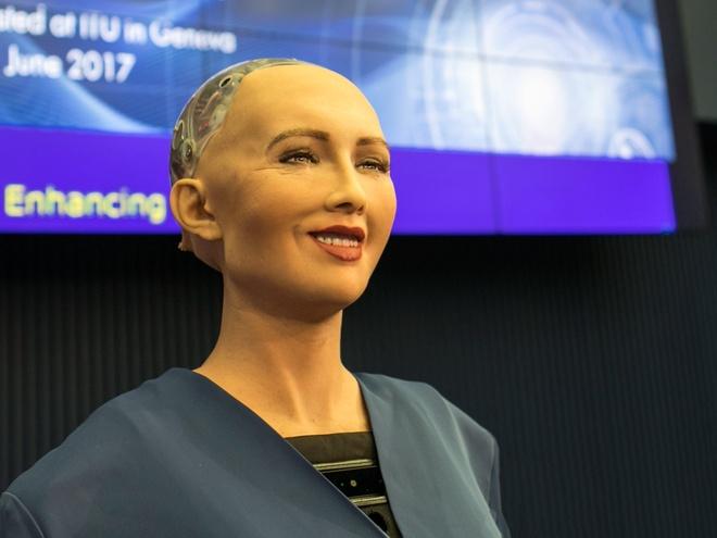 Tro chuyen voi Sophia - cong dan robot tung noi 'tieu diet loai nguoi' hinh anh 1