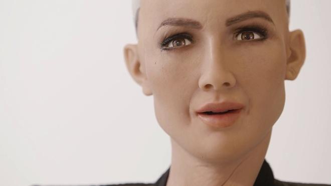 Tro chuyen voi Sophia - cong dan robot tung noi 'tieu diet loai nguoi' hinh anh 2