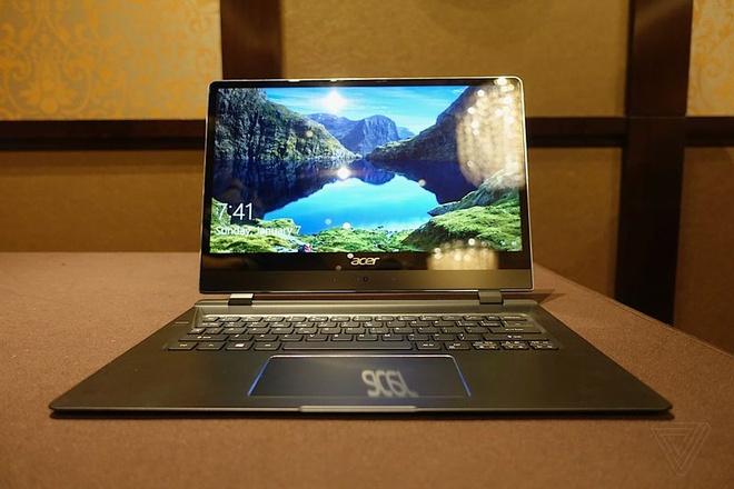 Acer ra mat laptop mong chua den 9 mm hinh anh