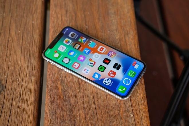 Dong sang lap Apple cho rang iPhone X qua rac roi hinh anh