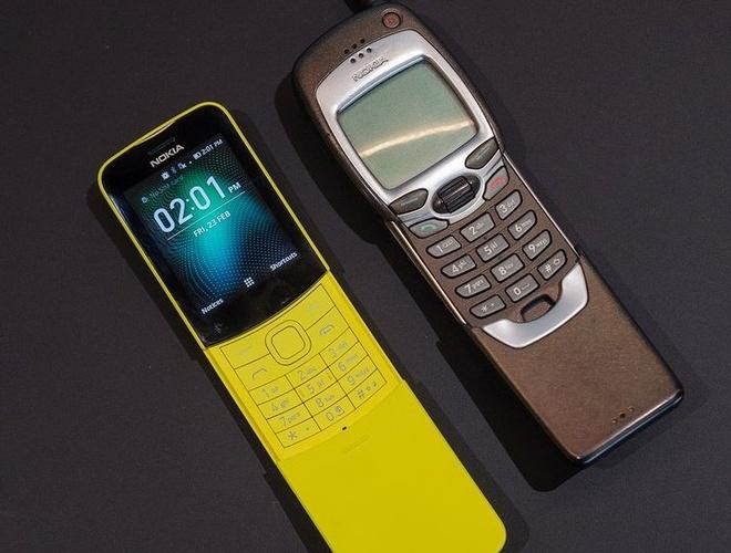 Nokia 'qua chuoi' 8110: Huyen thoai tro lai hinh anh