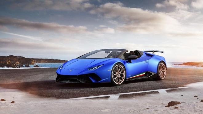 Lamborghini Huracan Performante Spyder gia hon 300.000 USD hinh anh