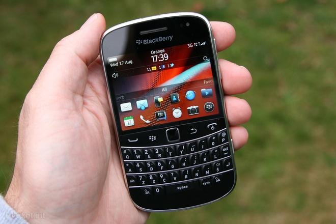Smartphone co ban,  bao mat nhu Bold 9900 anh 1