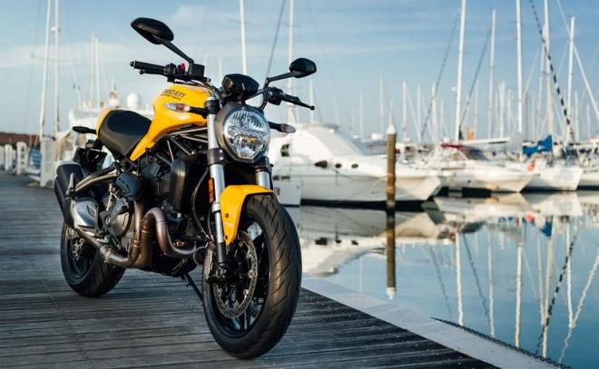 Ducati Monster 821 ban 2018 gia hon 14.200 USD tai An Do hinh anh 1