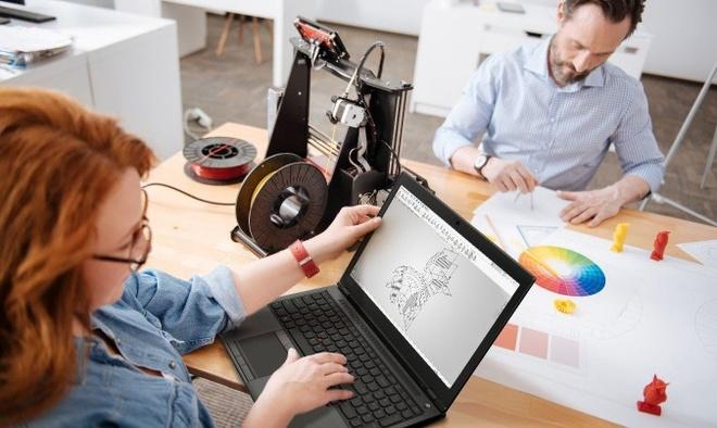 Laptop ThinkPad RAM 128 GB lo dien hinh anh