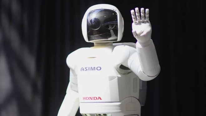 Vinh biet Asimo, chu robot dang yeu nhung vo dung cua Honda hinh anh