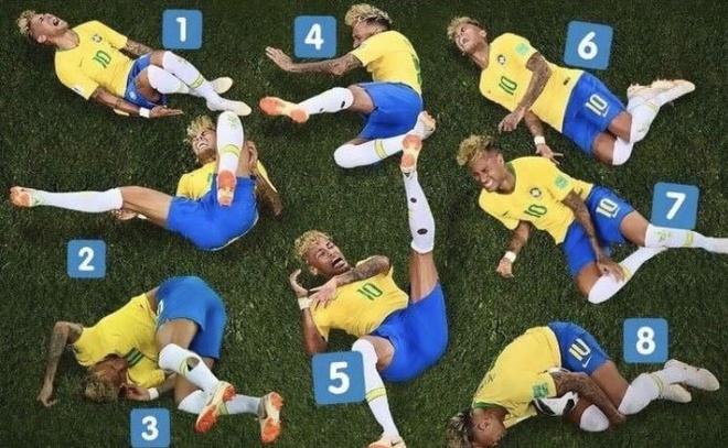An va tho thien, Neymar bi che anh dieu cot tren mang xa hoi hinh anh