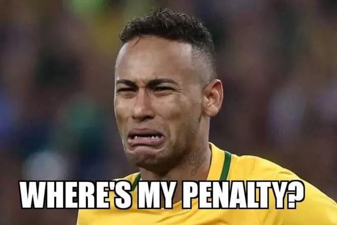 Bi loai, Brazil va Neymar thanh de tai che anh tren mang xa hoi hinh anh 5