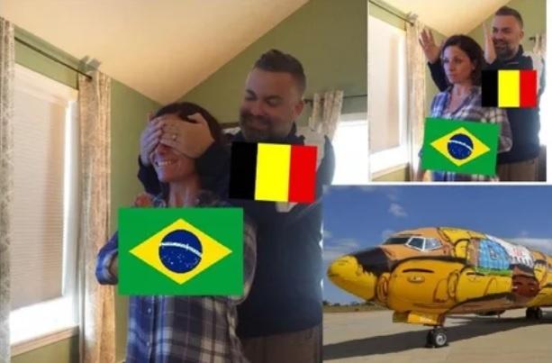 Bi loai, Brazil va Neymar thanh de tai che anh tren mang xa hoi hinh anh 2