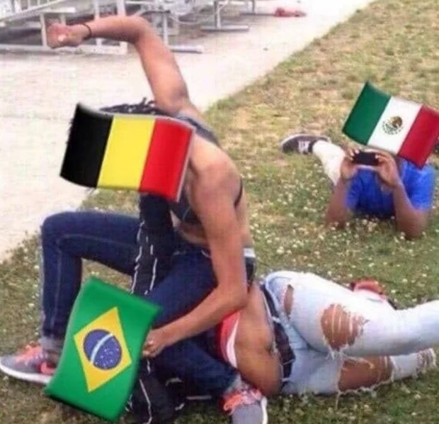 Bi loai, Brazil va Neymar thanh de tai che anh tren mang xa hoi hinh anh 12