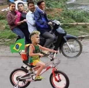 Bi loai, Brazil va Neymar thanh de tai che anh tren mang xa hoi hinh anh 13