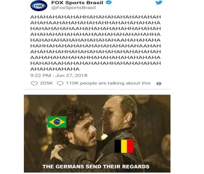 Bi loai, Brazil va Neymar thanh de tai che anh tren mang xa hoi hinh anh 11