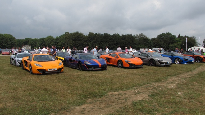 Goodwood Festival of Speed 2018: Cuoc hoi ngo cua cac anh tai hinh anh 6